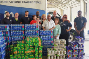Realtors deliver food and water to tornado victims